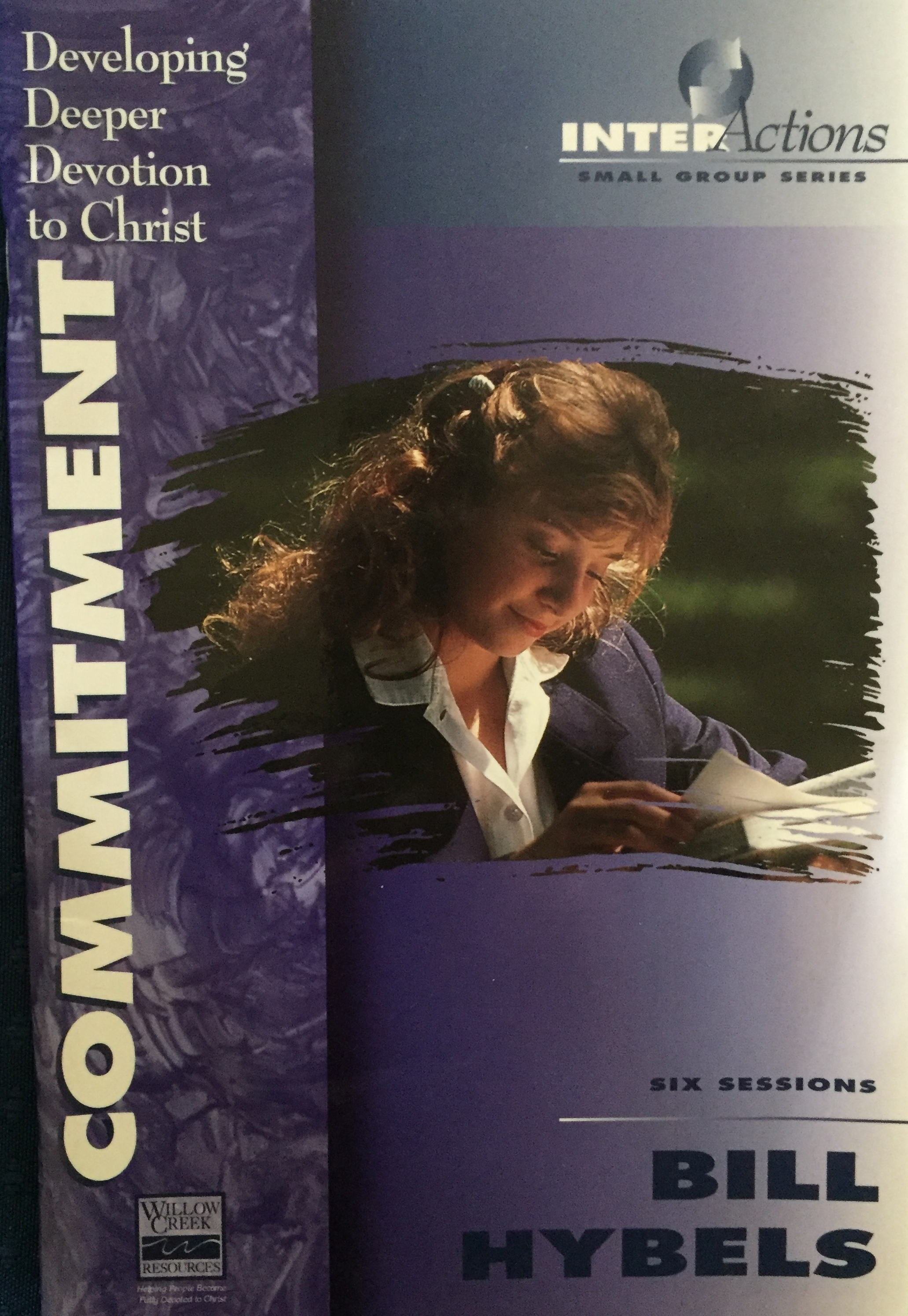 Commitment - developing deeper devotion to Christ