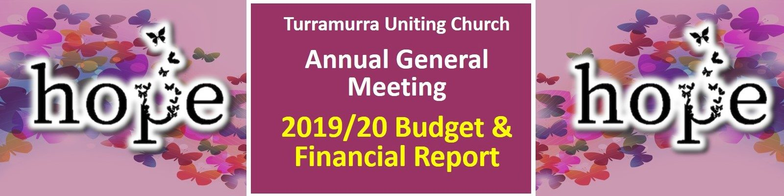 TUC AGM - 2019/20 Budget and Financial Report