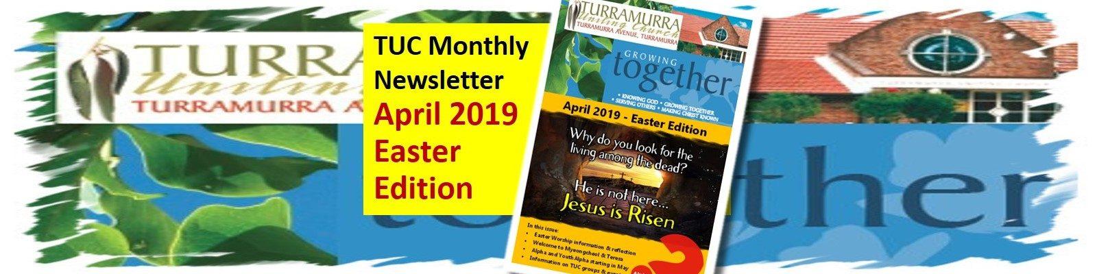 April 2019 Newsletter - Easter Edition