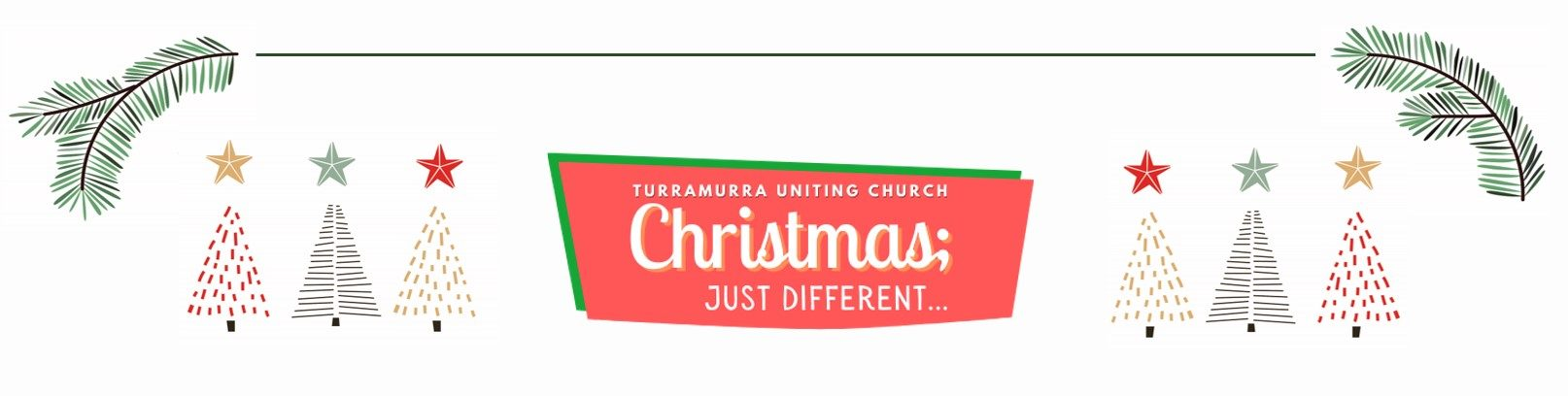 Christmas just different flyer