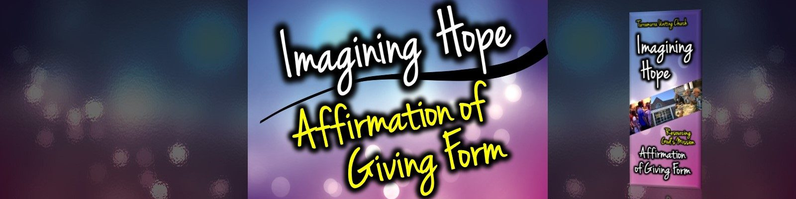 Imagining Hope Affirmation of Giving Form