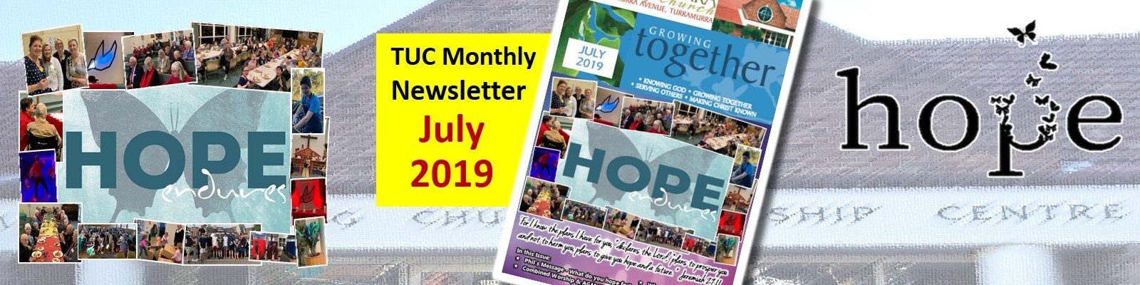 July 2019 Newsletter (Hope)