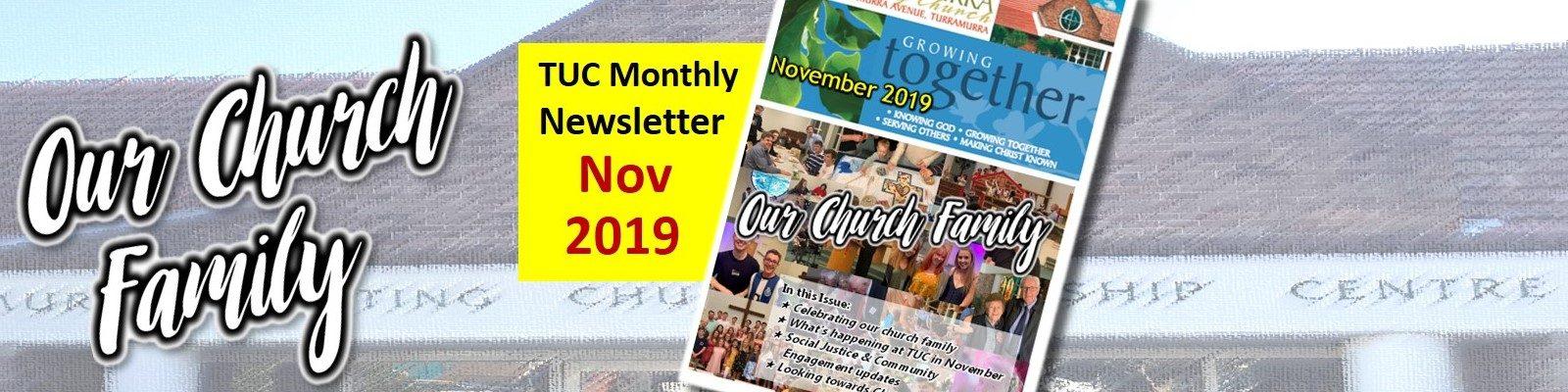 Newsletter November 2019
