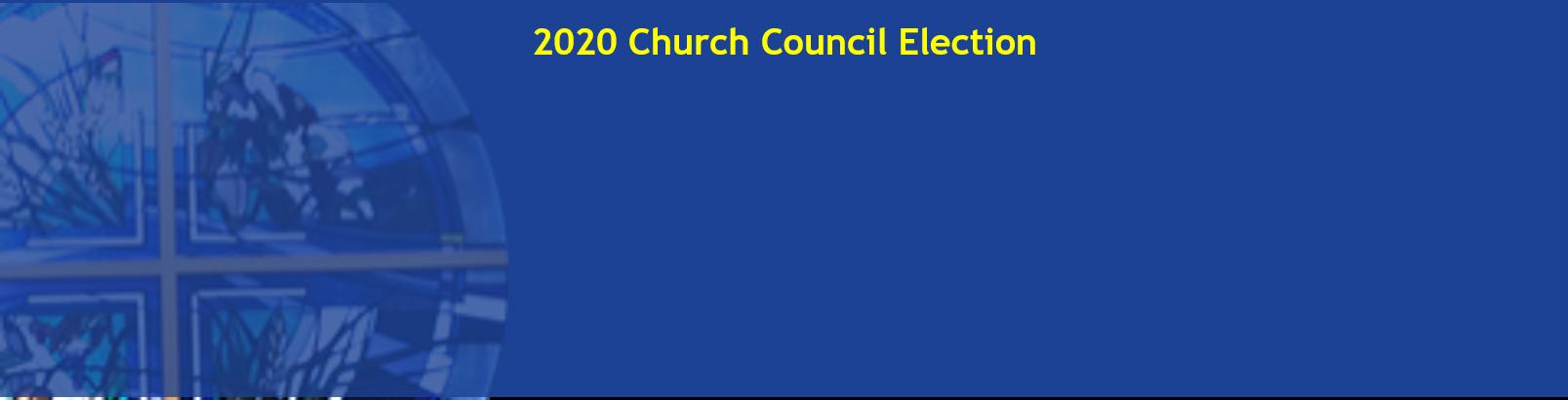2020 CC Election Voting Form